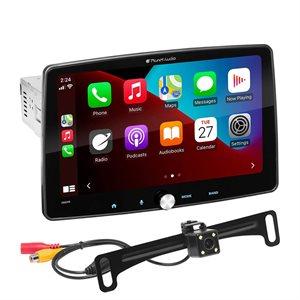 """Planet Audio 9"""" CarPlay / Android Mechless A / V Center w / Camera"""