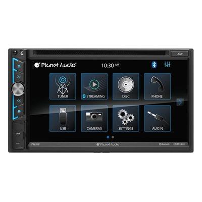 "Planet Audio 6.75"" CD / DVD / Bluetooth DDIN"