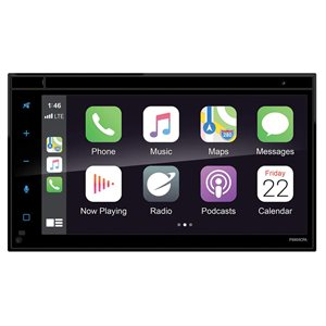 """Planet Audio 6.75"""" CarPlay / Android Auto Mechless DDIN"""