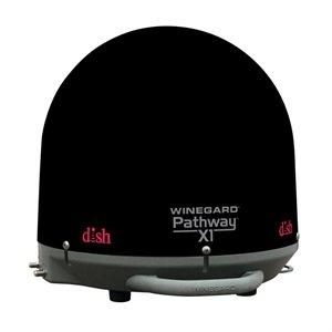 Winegard Pathway X1 Portable Satellite Dish (black)