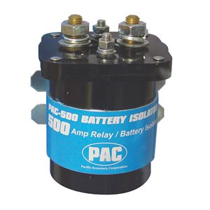 PAC 500 Amps Battery Isolator Relay