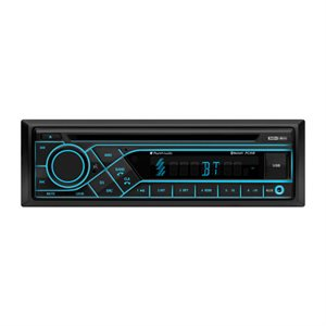 Planet Audio CD / MP3 / Bluetooth SDIN w / remote