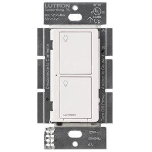 Lutron Caséta 6A 2-Button RF Switch (white)