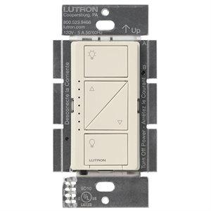 Lutron Caseta Wireless Multi-Loc In-Wall Dimmer (lt. almond)