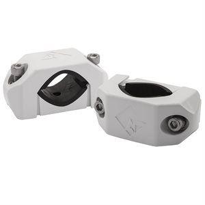 Rockford Marine Diecast Wakeboard Tower Clamps (white, pair)