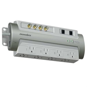Panamax 8-Outlet Power Conditioner and Surge Protector