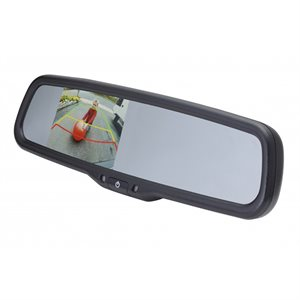"EchoMaster Universal Rear View Mirror Replace w / 3.5"" Monitor"