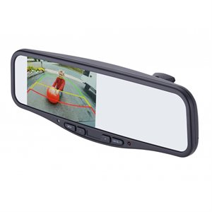 "EchoMaster 4.3"" Universal Mount Commercial Mirror Monitor"