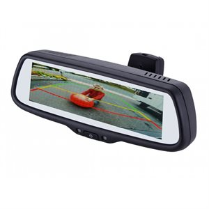 """EchoMaster 7.3"""" Rear View Mirror w / 3 Inputs and Triggers"""