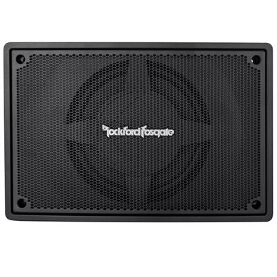 "Rockford Punch Single 8"" Powered Loaded Enclosure"