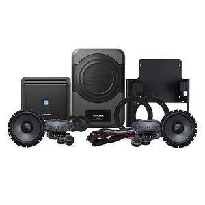 Alpine '15-'17 Jeep Wrangler Sound System 320 Watts