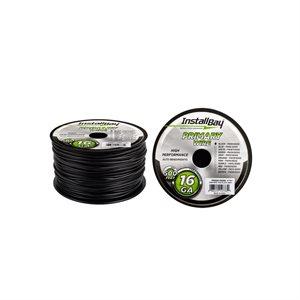 Install Bay 16 ga Primary Wire 500' Spool (black)