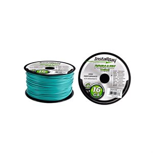 Install Bay 16 ga Primary Wire 500' Spool (green)