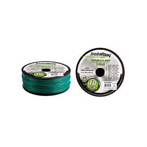 Install Bay 18 ga Primary Wire 500' Spool (green)