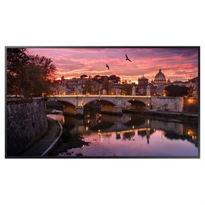 "Samsung Commercial 85"" 4K UHD LED Display 350NIT 16 / 7"