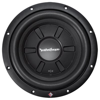"Rockford Prime R2 10"" 4 Ohm DVC Shallow Subwoofer (single)"