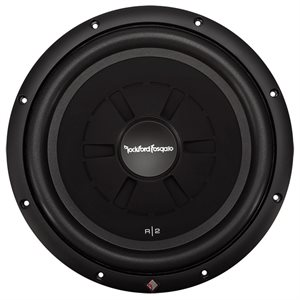 "Rockford Prime R2 12"" 4 Ohm DVC Shallow Subwoofer (single)"
