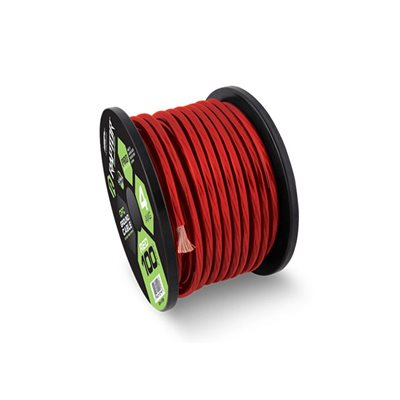 Raptor Pro Series 4 ga Power Cable 100' Spool (red)
