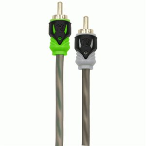 Raptor RCA 2-Channel Audio Cable, Pro Series, 1F-2M