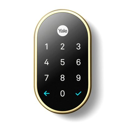 Nest x Yale Lock with Nest Connect (brass)