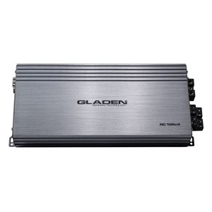 Gladen 4 Channel Class AB Amplifier 4 X 105W @ 4O, 2 X 300W @ 4O MONO