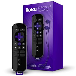 Roku Enhanced Remote with Voice Search