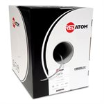 Red Atom Cat 5e 350MHz Wire 1,000' Box (grey)