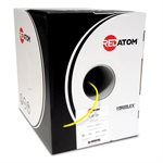 Red Atom Cat 5e 350MHz Wire 1,000' Box (yellow)