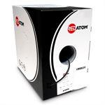 Red Atom Cat 6 550MHz Wire 1,000' Box (black)