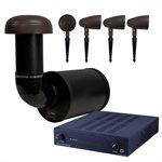 Red Atom Landscape Audio System w /  PulseAudio 2 Channel Amplifier(60w)
