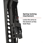 """Red Atom 37""""–80"""" Fixed Wall Mount Post-Leveling Adjustable"""
