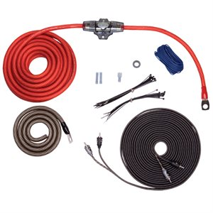 Rockford 4 AWG Power and Signal Amplifier Installation Kit