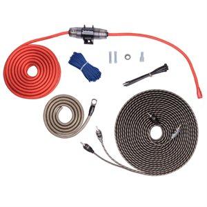Rockford 8 ga Amplifier Power and Signal Wiring Kit