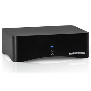 AudioControl High-Power Amplifier with Digital Audio Inputs(white)
