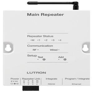 Lutron RadioRA2 Aux Repeater (white)