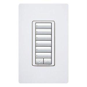 Lutron RadioRA2 Hybrid Master Keypad w / Neutral Wire (white)