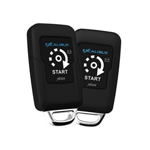 Excalibur Two 1-Way Paging Remote Start / Keyless Entry System