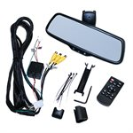 "Audiovox Full View Replacement Rear View Mirror w / 7.3"" wide screen monitor. R / L side camera inputs,"