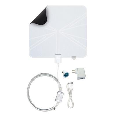 Winegard Rayzar Ultra-Thin Amplified Portable HDTV Antenna