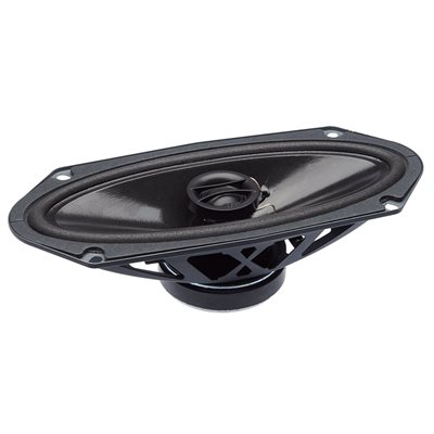 """PowerBass 4""""x10"""" OEM Replacement Coaxial Speakers (pair)"""