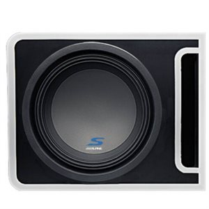 "Alpine Pre-Loaded S-Series 10"" Subwoofer Enclosure"