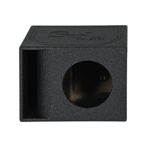 """SPL Boxes Single 10"""" Curved Ported w /  Bed Liner"""