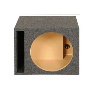 """SPL Boxes Carpeted Single 15"""" Vented Heavy Duty 1"""" MDF"""