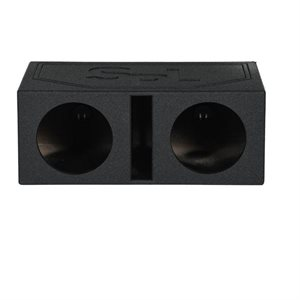 """SPL Boxes Dual 10"""" Vented Finished w / Bed Liner"""