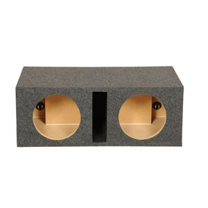 "SPL Boxes 10"" Shared Vented Dual Enclosure"