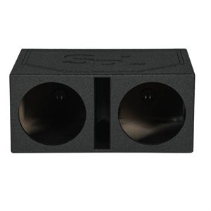 """SPL Boxes Dual 12"""" Vented Finished w / Bed Liner"""