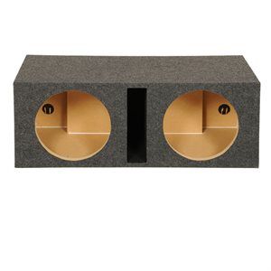 "SPL Boxes 12"" Shared Vented Dual Enclosure"
