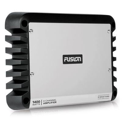 Fusion Marine 1,400W Class D 4 Channel Amplifier