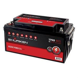 Shuriken 1,750W 75 Amp Hours Large Size AGM 12V Battery