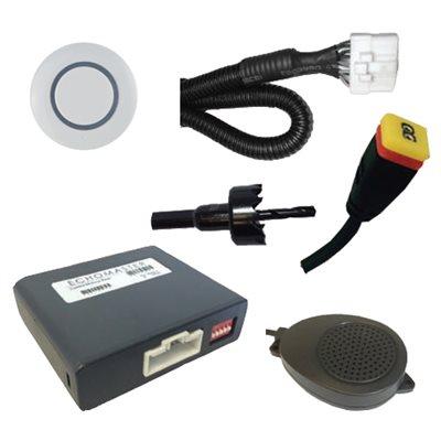 EchoMaster ParkAlert Rear Sensing System-White
